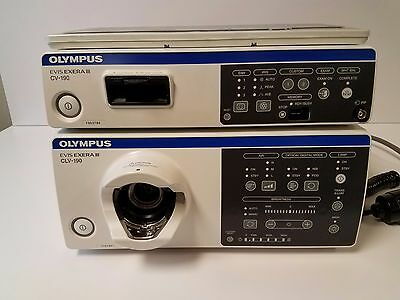 Olympus CV-190/CLV-190 with cables,Keyboard and MAJ-1430 Pigtail
