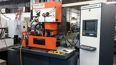 Used Charmilles Robofill 20 CNC Sinker EDM 4 Position ATC OBP Erowa Chuck 1991