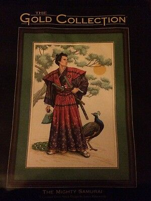 Brand New Dimensions The Gold Collection The Mighty Samurai Cross Stitch Kit