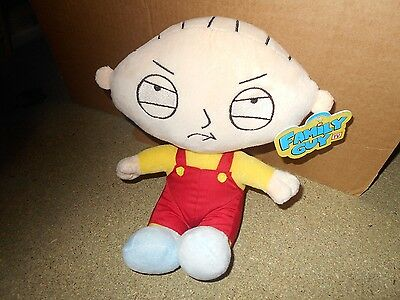 """Family Guy Stewie Griffin Soft Toy 10"""" Branded Quality Item New & Tagged"""