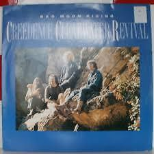 "Creedence Clearwater Revival bad moon rising 12"" vinyl!"
