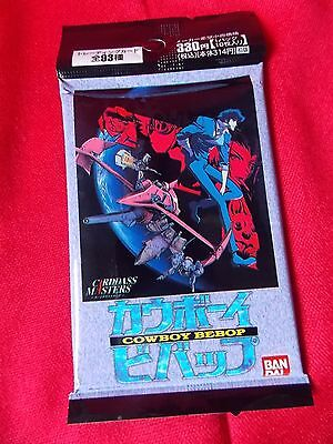 COWBOY BEBOP Set of 10 TRADING CARDS  / BANDAI 1999 / UK DESPATCH