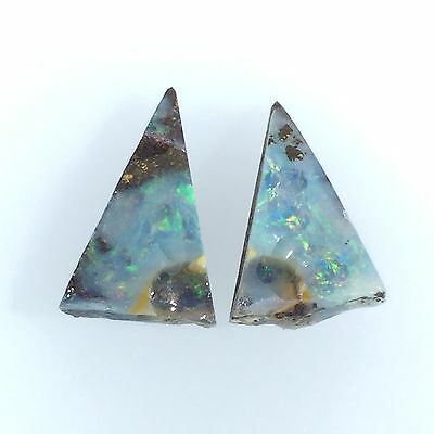 CRACKY OPAL - Solid natural untreated Australian Boulder OPAL ROUGH with CRACKS