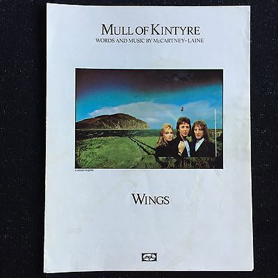 Wings Mull of Kintyre - Words And Music