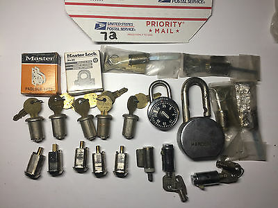 Locksmith-Student-Lot of Lock Cylilnders for Parts or Practice (72)
