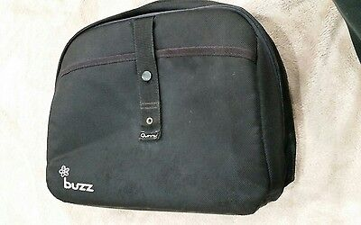 Quinny Buzz Black Clip on Storage/changing bag. Rain cover included