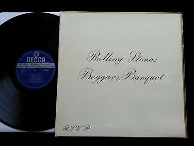 THE ROLLING STONES Beggars Banquet LP UK 1st STEREO Decca 2K/2K 1st Mothers EX+