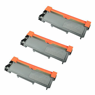 3 PK TN630 TN660 Black TN-630 TN-660 Toner Fit for Brother DCP-L2540DW HL-L2300D