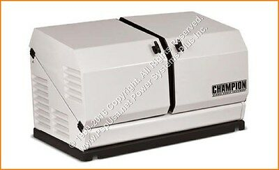 Champion 14kW Standby Power Backup Generator LP Propane NG Gas 120/240v #100237