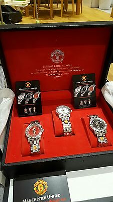 Manchester United Treble Edition Limited Watch Set (1999)