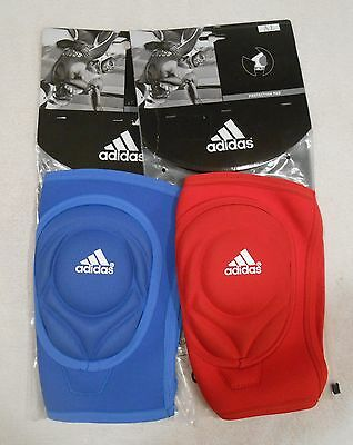 Adidas Wrestling Knee Pad/Sleeve ( New ) 1 Pad per Package ( Large Red or Blue )