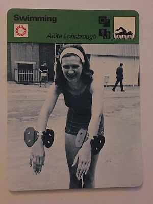 Sportcaster Rencontre Sports Card - Swimming - Anita Lonsbrough!