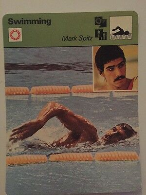Sportcaster Rencontre Sports Card - Swimming - Mark Spitz!