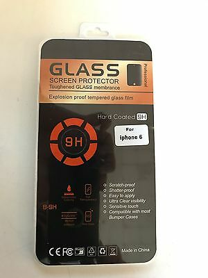 Apple iPhone 6 - Tempered Glass Screen Protector + Clear Gel Case
