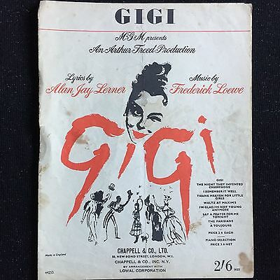 'Gigi' words and music