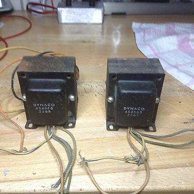 Pair of Dynaco Z565 Transformers