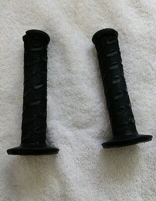 Bmx dyno handlebar grips freestyle race old mid  school black fits Haro Dk SE
