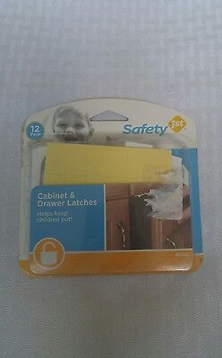 SAFETY 1ST, Cabinet locks, 12PK. NEW!
