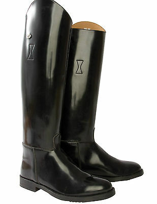 Requisite Hi Shine LADIES WOMENS Long Horse Riding Boots Country SIZE 2.5(35)