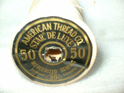 Vtg Strong Sewing Wooden Thread Spools American Thread Co. Mercerized