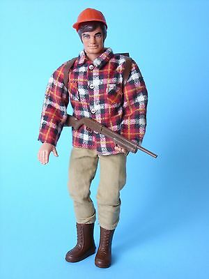 Big Jim Figur Big Jim Camping Nickkopf Mattel ca. 1975