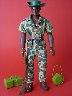 Big Jim Figur Big Jack Safari mit Olympic Body Mattel ca. 1975 BIGJIM