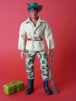 Big Jim Figur Big Jim Safari mit Olympic Body Mattel ca. 1975