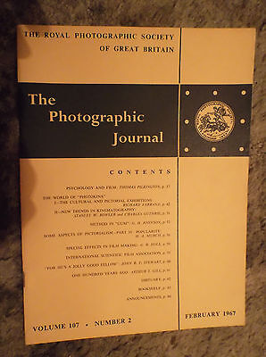 The Photographic Journal Vol 107 No 2 February 1967