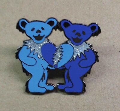 They Love Each Other Winter Grateful  Dead Hat Pin. Rare! Jerry Garcia.