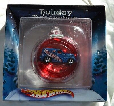 Hot Wheels #2 Hot Wheels Racing 2002 Holiday Decoration Ornament - Red - Sealed