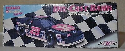 1994 Texaco Havoline Racing Die Cast Bank - Collectors Edition - Thunderbird #28