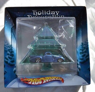Hot Wheels '30s Pick-Up Truck 2002 Holiday Decoration Ornament Green Tree Sealed