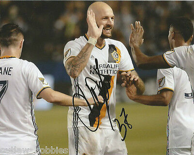 Los Angeles Galaxy Jelle Van Damme Autographed Signed 8x10 Photo COA