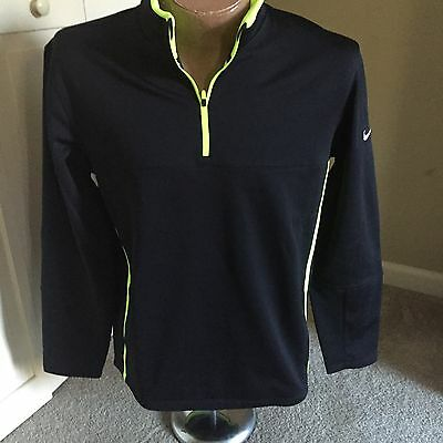 Nike Golf Tour Performance Therma-Fit Zippered Pullover #686085 Men's Large