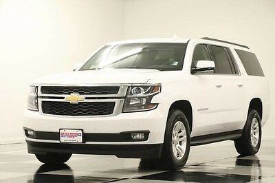 2016 Chevrolet Suburban  Like New Heated Seats Navigation Camera 8 Passenger 15 16 2017 17 Player Black