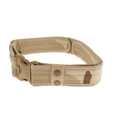 140cm Airsoft Tactical Outdoor Canvas Survival Security Police Duty Utility Belt