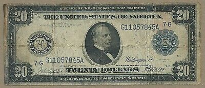 $20 1914 Federal Reserve Note (((((( Chicago )))))) Cheap