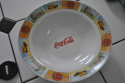 """Coca-Cola Gibson Good ole Old Days soup dinner bowl 9.5"""""""