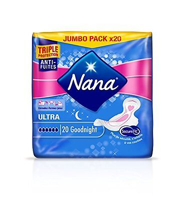 NANA, Assorbenti notte Ultra Normal, 3 x 20 pz.