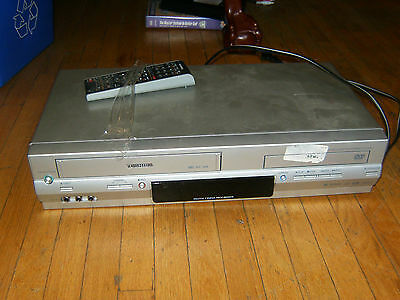Good Working Toshiba Dvd-Vhs Vcr Combo Model Sd-V394 With Remote