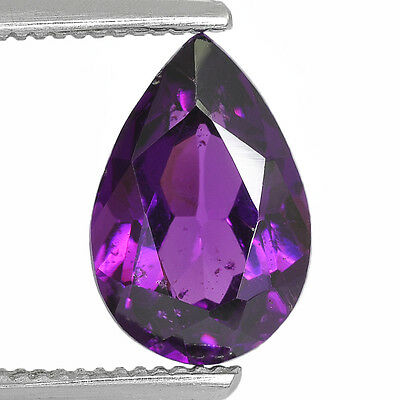3.01Cts Natural Mozambique Grape Garnet Rare Color Collector's Gemstone Pear