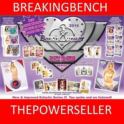 CHARITY HODGES 2016 Benchwarmer ECLECTIC 8-BOX CASE BREAK #M543