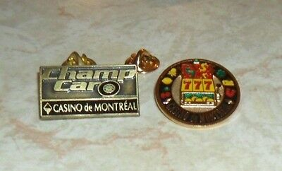 Montreal Casino pins Champ Car roulette / épinglette / FREE SHIPPING