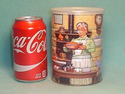 1993 Maxwell House Collectibles Coffee Can~Full Never Opened.