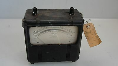 Vintage Hickok Electrical Instrument Co. Voltmeter Model 13 Part # 131-138