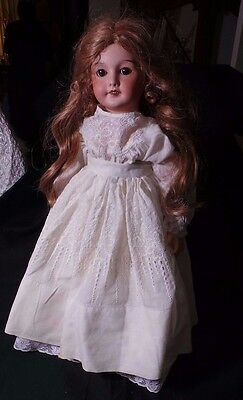 Vintage German Doll Composition & Bisque Marked 9