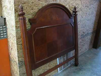 Antique Bed Frame With Post