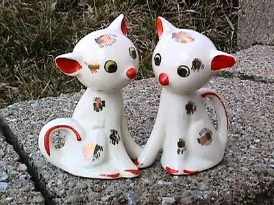 Shakers Cats/kittens Art Deco Colorful Shakers Vintage Japan A-G