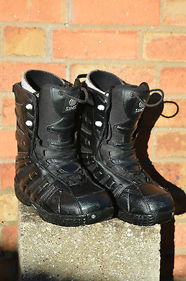 SIMS snowboard boots,size UK9.5, EUR43.5.