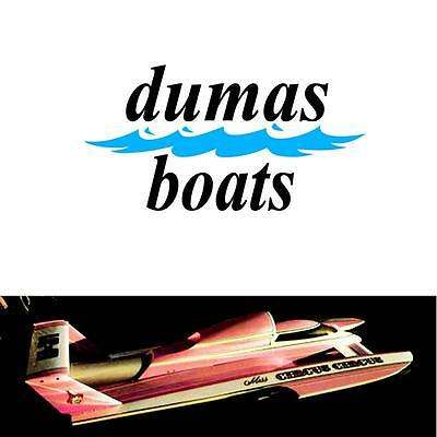 Dumas Miss Circus Circus Unlimited Hydroplane 1/8 Scale Rc Boat